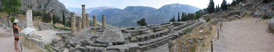 Vista Panoramica di Delfi