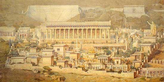 Ricostruzione Storica di Delfi
